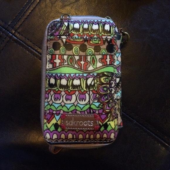 Sakroots Wristlet Iphone