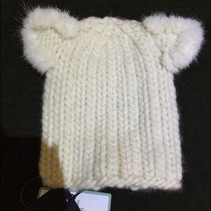 Eugenia Kim Felix Hat with Cat Ear NWT