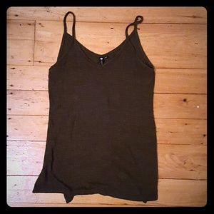 Brand new olive green tank top
