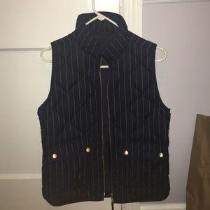Navy blue Jcrew vest