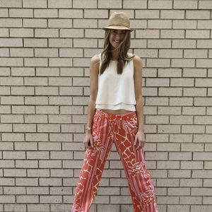 Lilly Pulitzer for Target-fedora