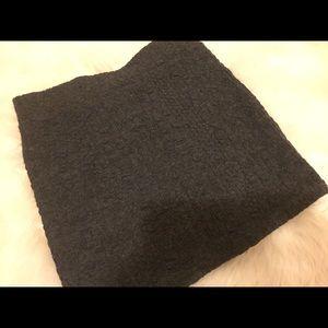 Dresses & Skirts - Dark grey bodycon mini skirt