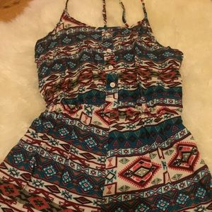 Other - RUE21 tribal jumpsuit