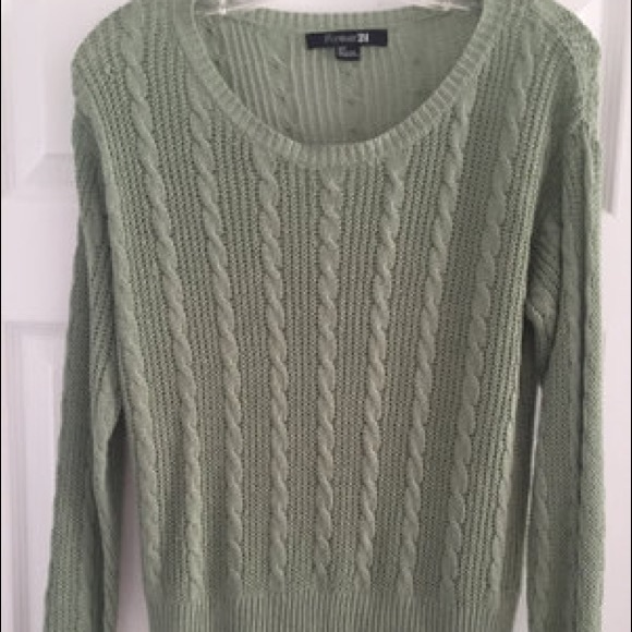 Forever 21 Sweaters - Cable Knit Pullover