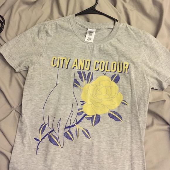 Flash sale! City & Colour Band Tee