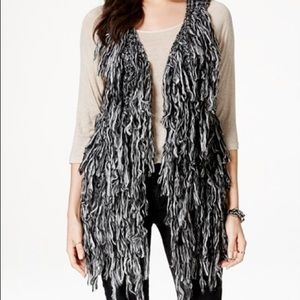 Material Girl Sweaters - NWT! 🐏 Soft Fringe Sweater Vest