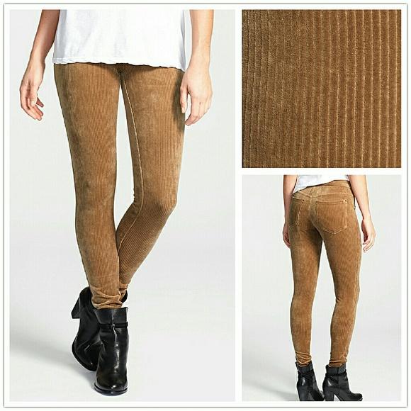 1975a2583db57 HUE Pants | Brown Wide Wale Corduroy Leggings Xs | Poshmark