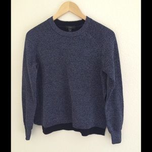 J. Crew Sweaters - J. Crew Metallic Side-split Sweater