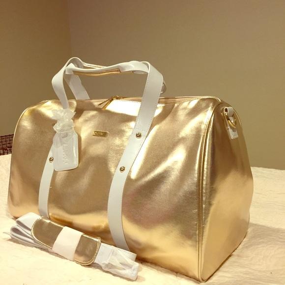 NEW Versace parfums duffle bag overnight travel gm.  M 56a6fe1cb5643e5ddf008e46 30eab4df233be