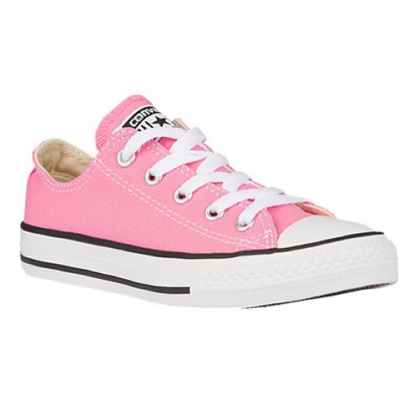 off Converse Shoes low top light pink converse from