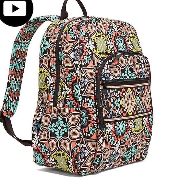Vera Bradley Campus Backpack (Sierra) Brand New! M 56a7691f2ba50adb9d00e763 2f2efeb09da29