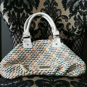 Steve Madden Satchel- multicolored