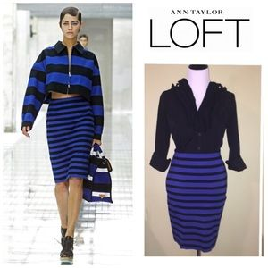 88% off LOFT Dresses & Skirts - FINAL SALE!! Loft Black White ...