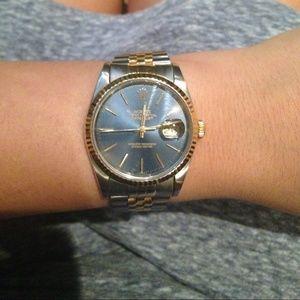 Rolex Accessories - Authentic two tone Rolex watch unisex