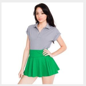  American Apparel thick knit jersey skirt