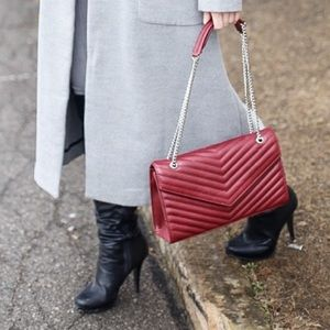 Forever 21 Handbags - Burgundy forever 21 bag