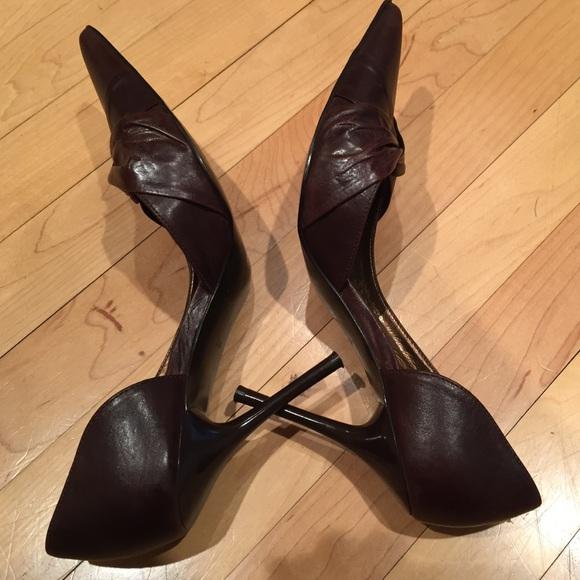 75 aldo shoes aldo chocolate brown heels from