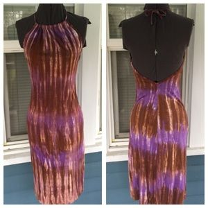 Jungle Girl Kauai Dresses & Skirts - 💃JUNGLE GIRL Kauai Tie-Dye Halter Dress