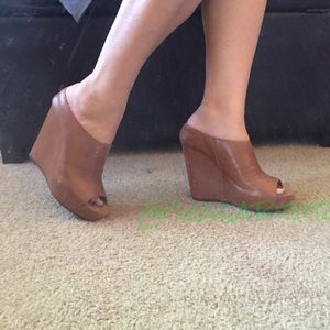Steven by Steve Madden Shoes - NEW Leather Wedges Steven by  Madden