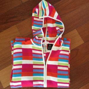 Obermeyer Sweaters - Cheerful Wool Obermeyer zip Sport Hoodie