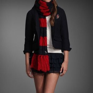 Navy Abercrombie and Fitch blazer!discounted!