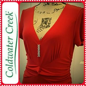 Coldwater Creek Dresses & Skirts - Coldwater Creek Red Dress