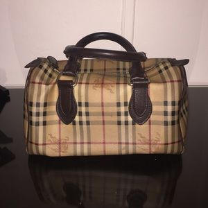 Burberry Bags - Authentic Burberry Canvas Bowling Bag e6e76bccc6be1