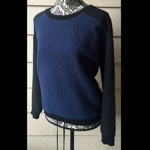 Blue and Black Lou & Grey Sweater