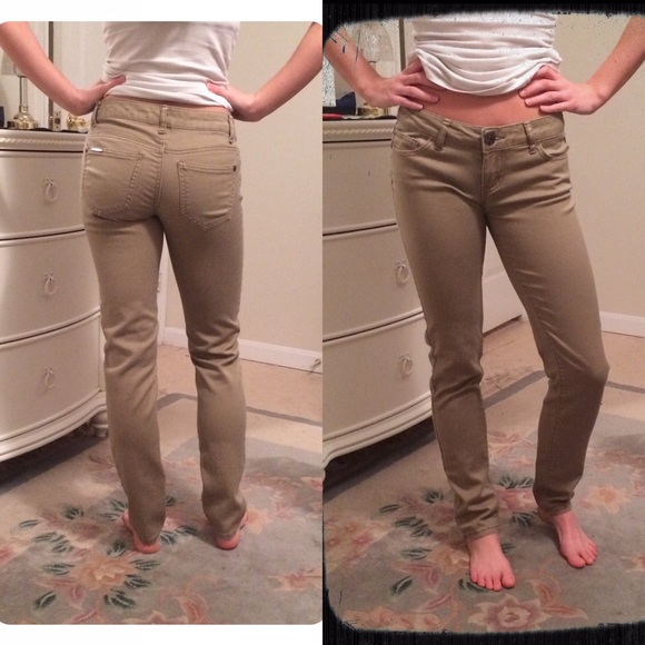 quite nice good out x sneakers for cheap EUC Skinny Khaki Pants