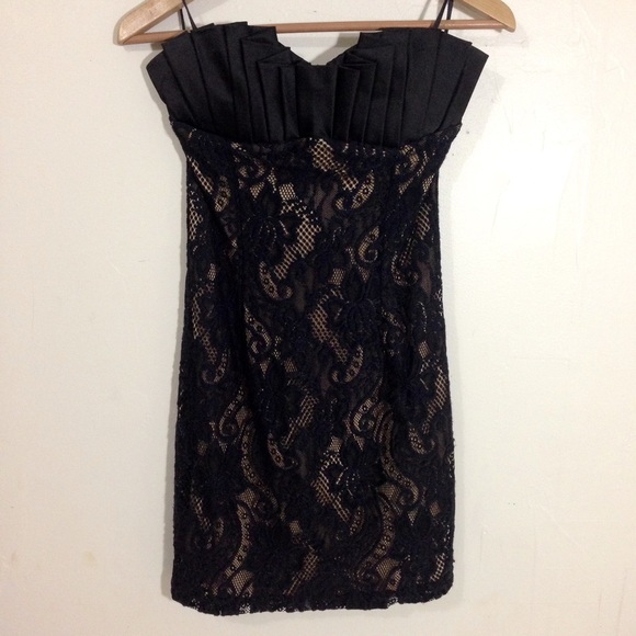 57 off mystic dresses amp skirts strapless black and tan