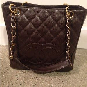 Authentic Chanel - Petite Timeless Caviar Tote