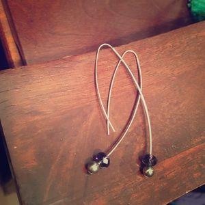 Jewelry - 🎁Amethyst drop earrings