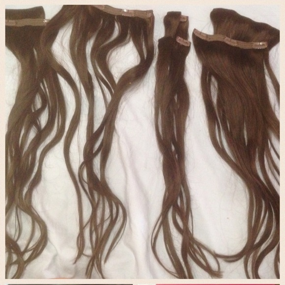 Luxy Hair Accessories 120 Gram Extensions Dark Brown Poshmark
