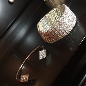 Jewelry - Silver bracelets.