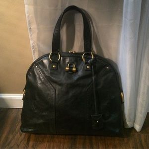 77% off Yves Saint Laurent Handbags - Ysl muse 2 satchel xl size ...