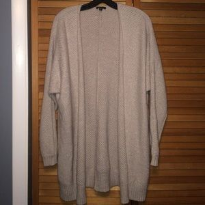 Express Sweaters - Express cream cardigan | Size: L