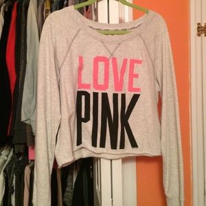PINK long sleeve tee !!