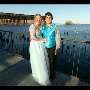 Dresses & Skirts - Baby Blue Prom Dress