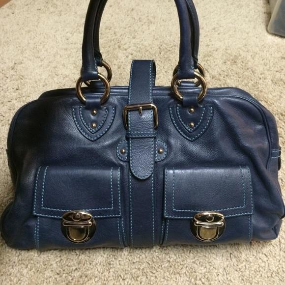 Shoulder Bag for Women, Blue, Nylon, 2017, one size Marc Jacobs
