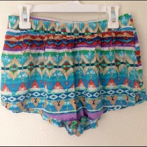 Forever 21 Pants - Aztec Tribal Striped Shorts