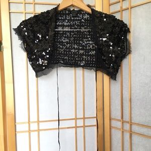 Express Black Sequin Cover, Size XS, Never Worn!