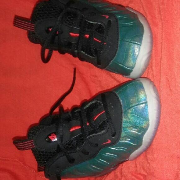 a7a742be4b594 Nike Gone Fishing Toddler Foamposite Sneakers. M 56a855a8fbf6f933e300a463