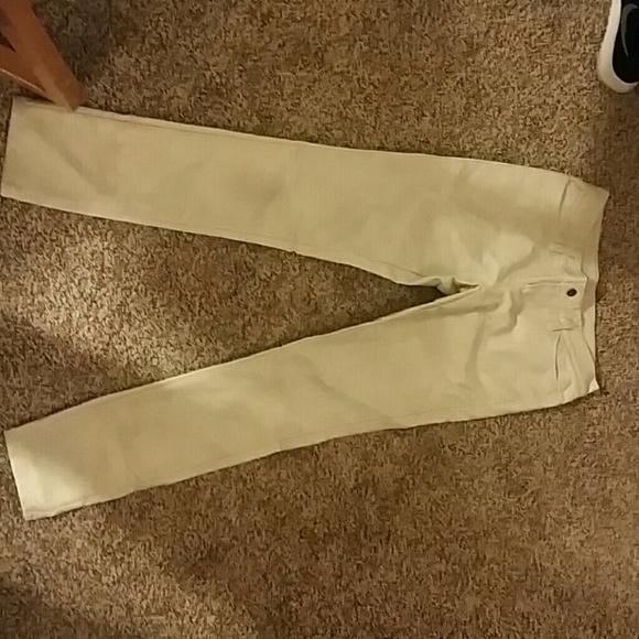 ac55e6a832e76 Urban Outfitters Pants | Cream Faux Leather Size 26 | Poshmark