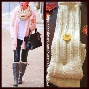 Luxurious Over The Knee Boot Socks Thigh Highs