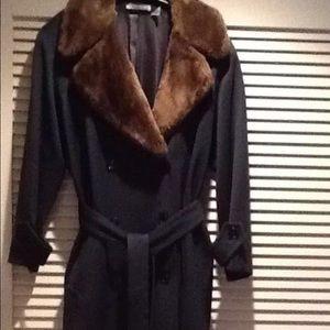 Cacharel, Paris Jackets & Blazers - CACHAREL Paris DESIGNER 100%WOOL TRENCH Coat
