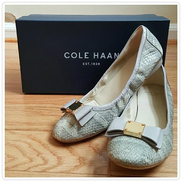 Cole Haan Tali bow ballet flats NIB