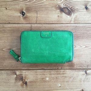Green Wallet • Fossil