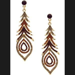 Olivia Welles Peacock Earrings