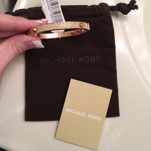 michael kors jewelry 1day sale mk astor pave rose gold bracelet rh poshmark com michael kors jewelry sale uk michael kors jewellery sale ebay