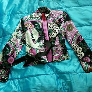 Tops - Women's patterned top